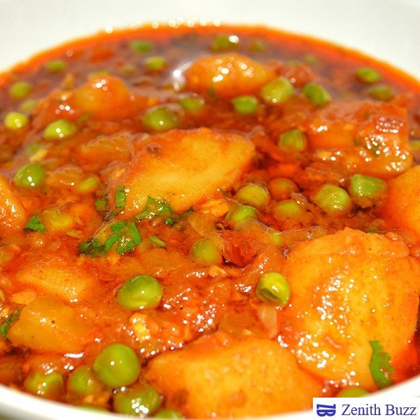How To Prepare Aloo Mutter Masala - Restaurant Style