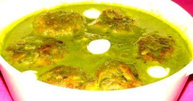 Healthy spinach recipe