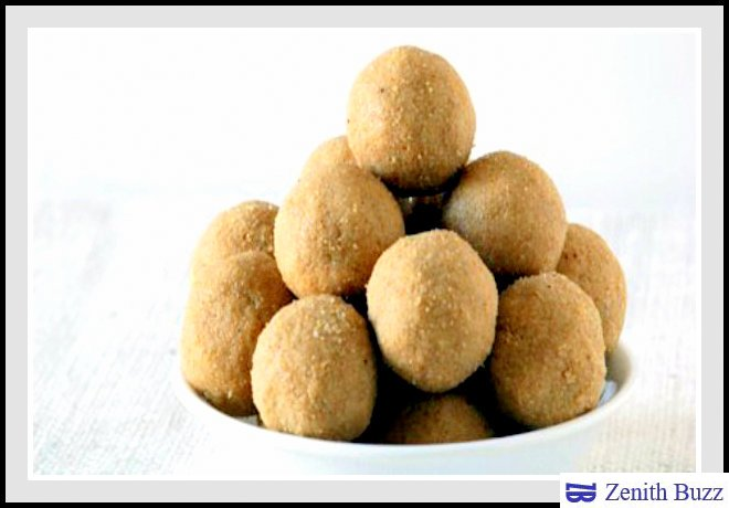 Jowar /Sorghum Laddu -Healthy Sweets with Millets