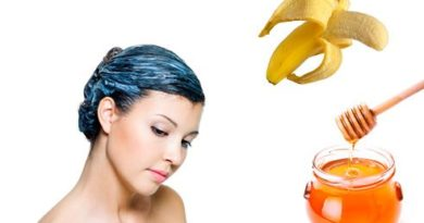 DIY hair mask to control hair dryness