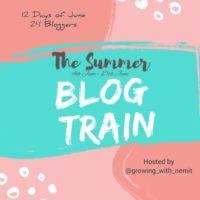 Summer blog train