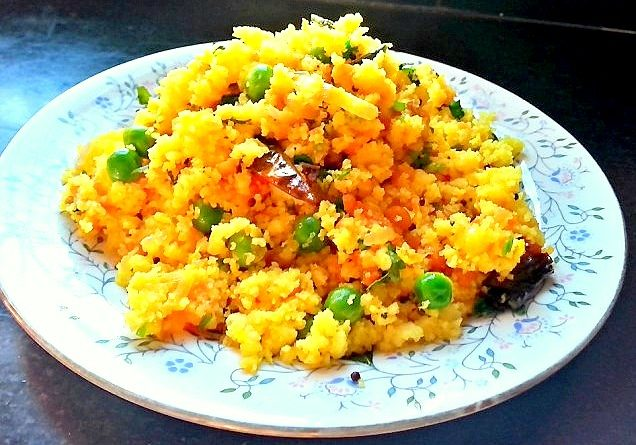 Foxtail Millet Upma healthy breakfast