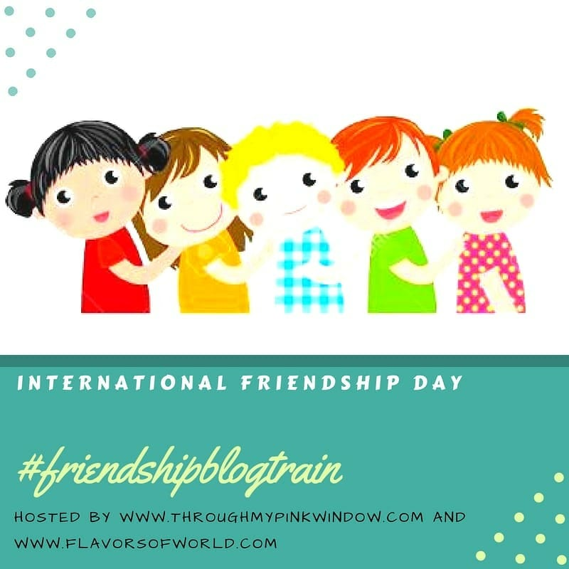 Friendship day blog train