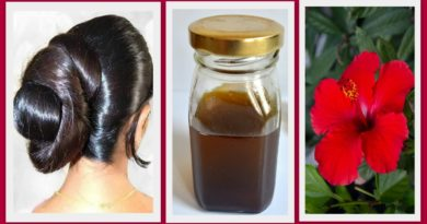 promotes hair growth with DIY hair oil