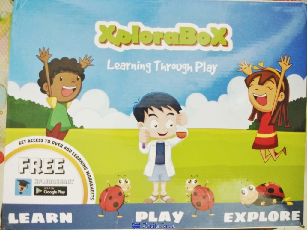 entire concept of learning is changed with Xplorabox
