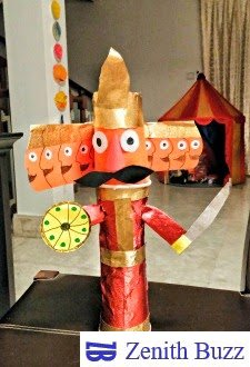 This Dussehra make DIY Ravana