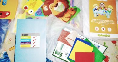 Educational Activity box filled with amazing educational activities