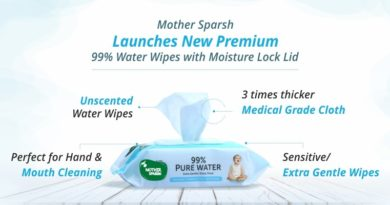 Mother Sparsh Launches Premium Wipes for New Born Babies