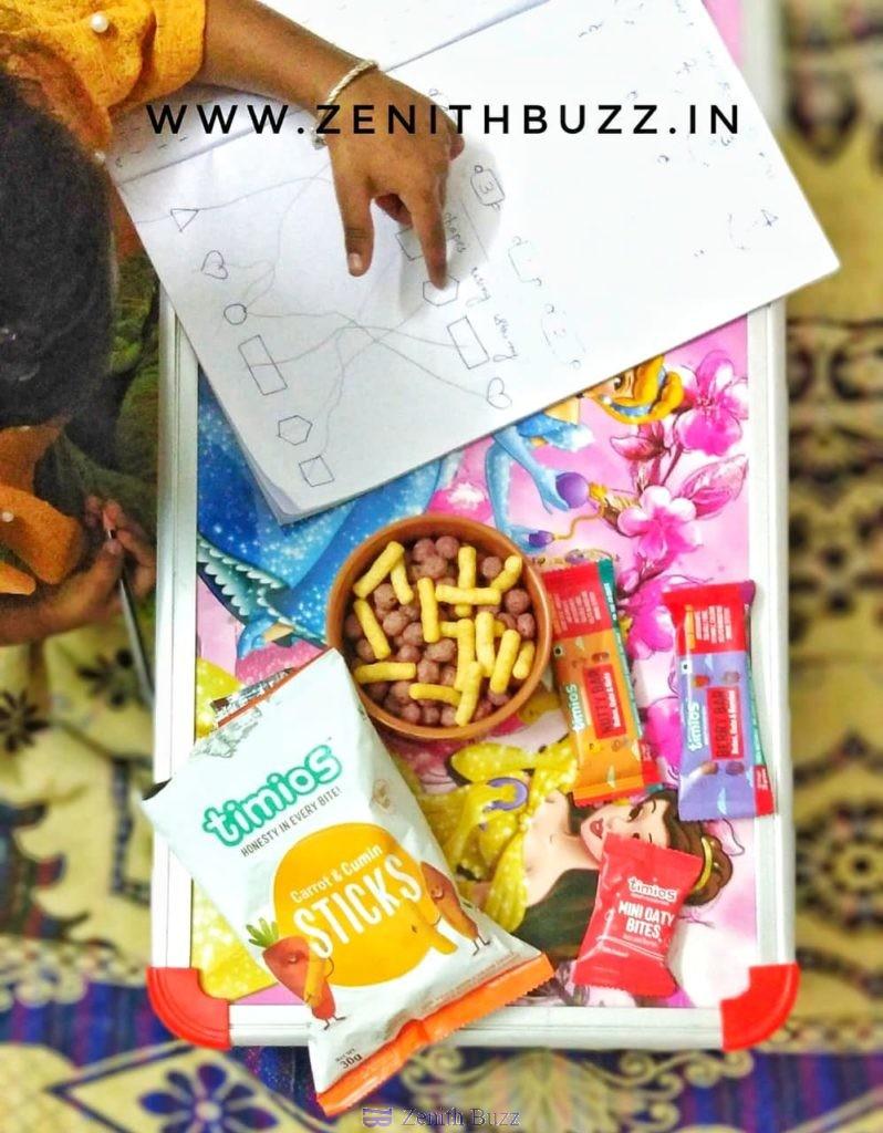 Timios Snacks for kids
