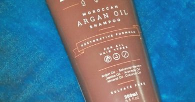SLS and Paraben free shampoo