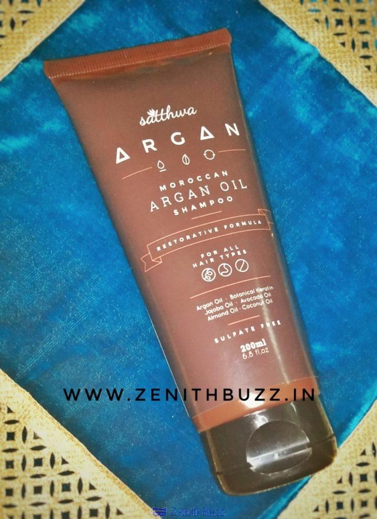 SLS and Paraben free shampoo