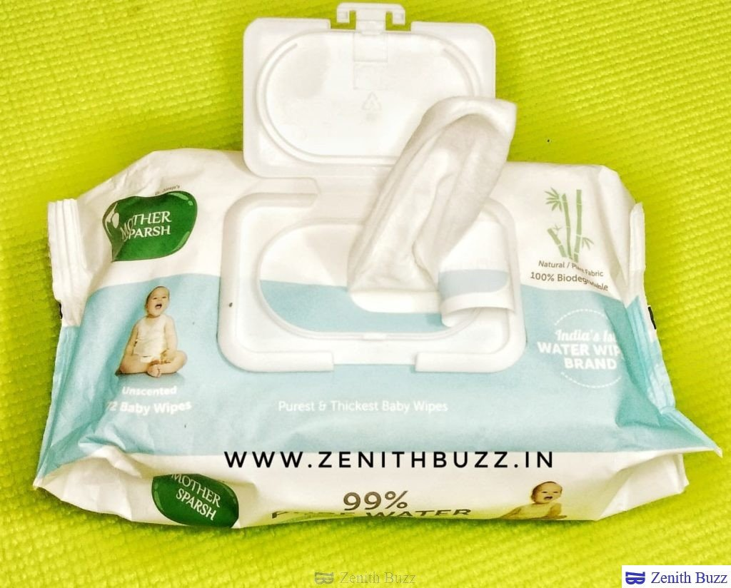 Mother Sparsh 99% water wipes is the best in market.